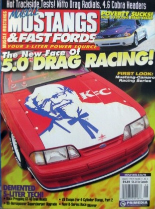 MUSCLE MUSTANGS & FAST FORDS 1998 AUG - SUPER TRUCKS